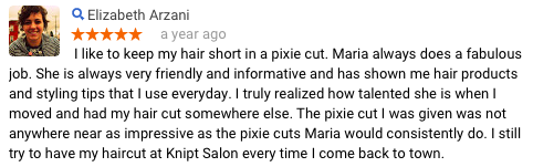 Elizabeth A Review of Maria Knipt Salon