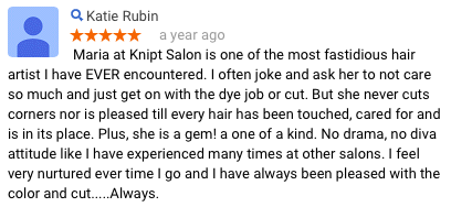 Katie Rubin Review of Maria Knipt Salon