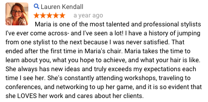 Lauren K Review of Maria Knipt Salon